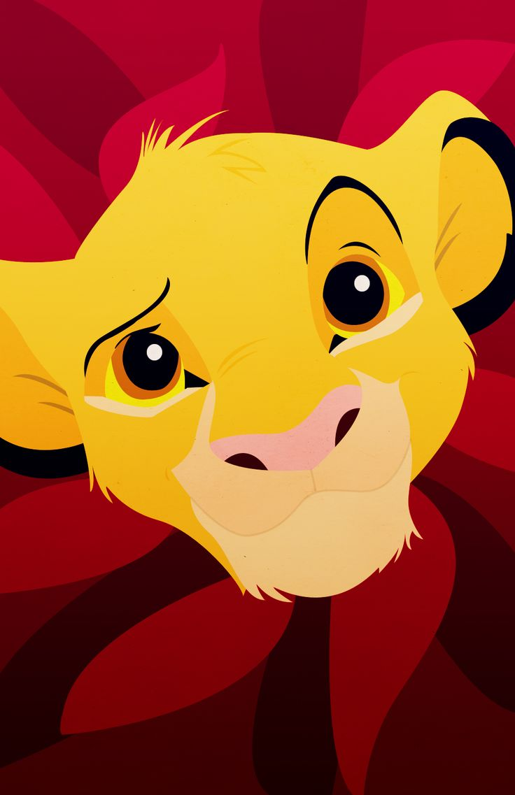 Tumblr iphone wallpaper disney - Simba From The Lion King Iphone Background By Petitetiaras