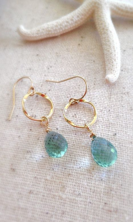 Gemstone Jewelry Gemstone Earrings stone drop earrings