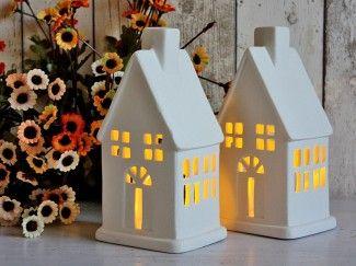 porcelanowe domki lampiony - Szukaj w Google