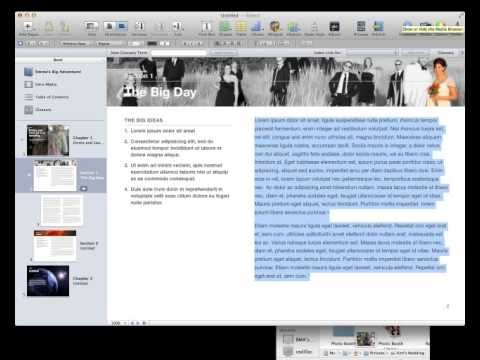 Tutorials to help you learn iBooks Author. to Dave Johnson from the Northern Michigan Learning Consortium Social Studies Wiki.
