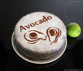 """IRRI style: Avokadų / aguonų tortas """"Avocado"""" - beveik 100 % avokadinis..."""