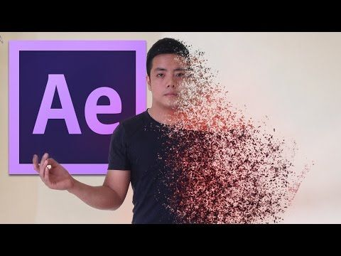 After Effects Tutorial: Disintegration Effect - YouTube