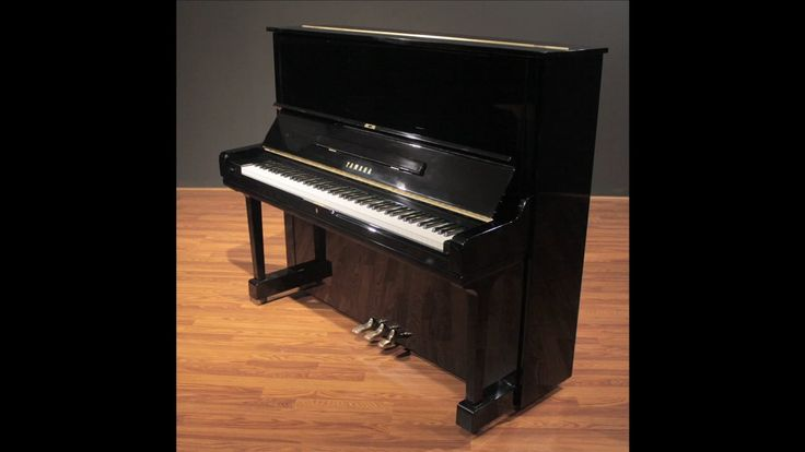 "Yamaha U3 52"" Upright Piano, Four Star Reconditioned"