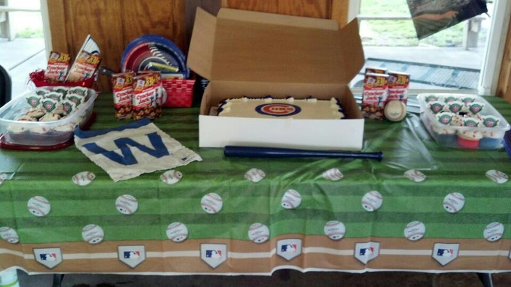 17 Best Images About Baseball Birthday Ideas On Pinterest