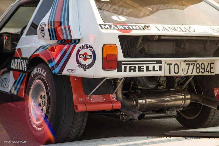 Heaven Is Group B Rally Cars Shredding On Monza's Crazy Banking - Petrolicious