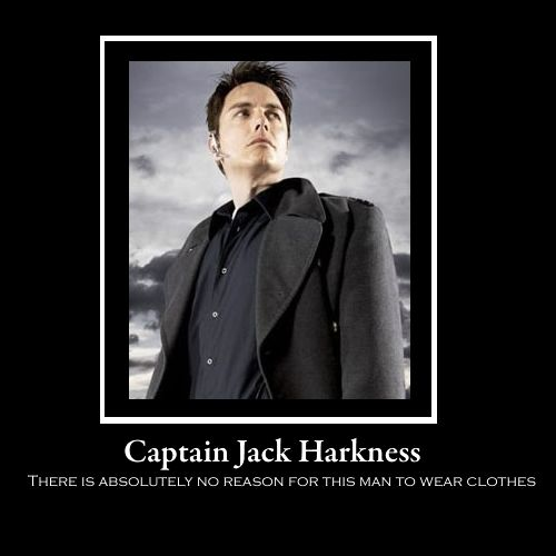 I just watched the end of Torchwood season 3 so I kinda hate him at the moment but this still made me laugh out loud.