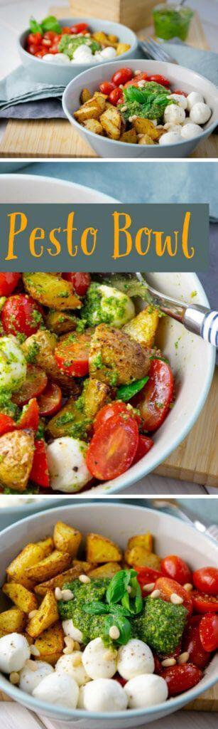 Ruck zuck fertig: Pesto Potatoe Bowl