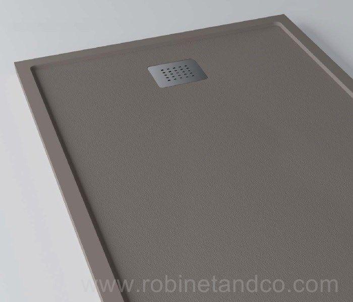 Receveurs de douche plat : Robinet & Co, bacs de douche plats en résine