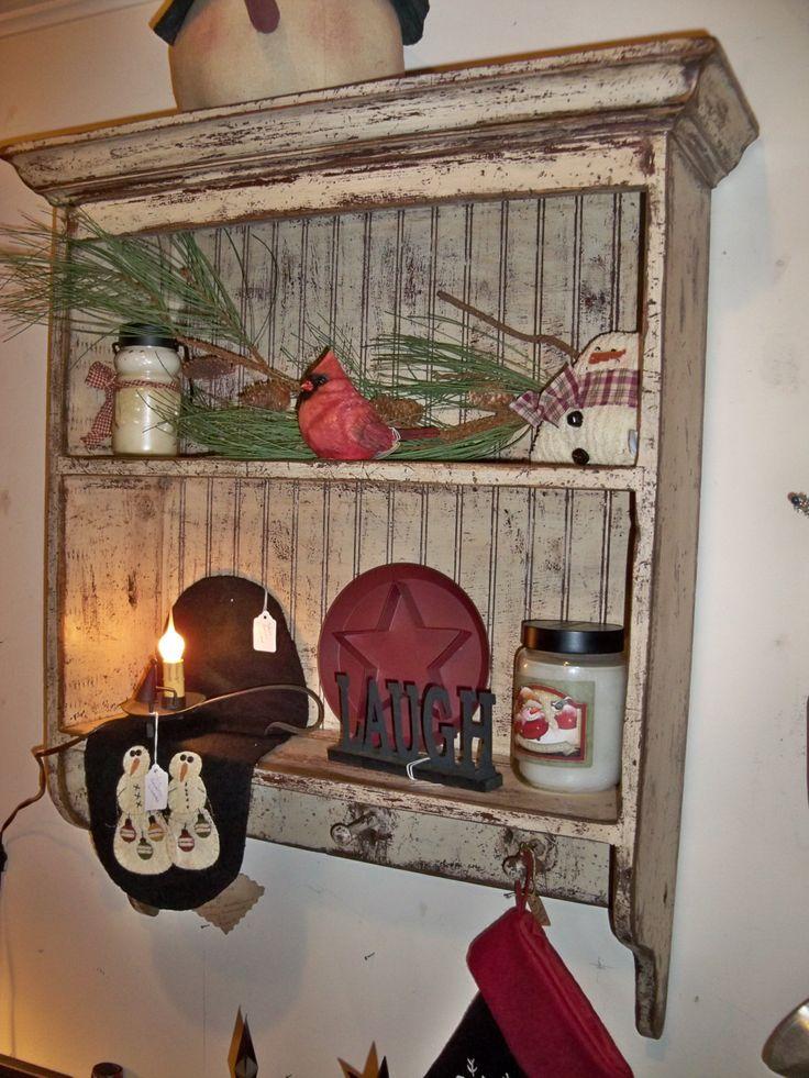 New Brunswick shelf with pegs. $169.00, via Etsy.