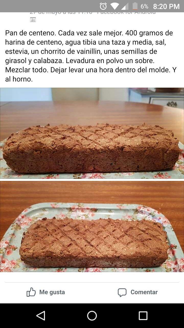 pan de dieta sin harina