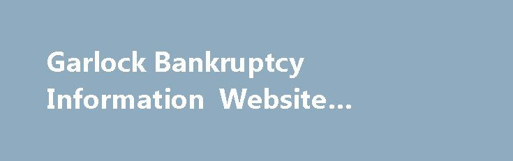 "Garlock Bankruptcy Information Website #garlock #asbestos http://namibia.remmont.com/garlock-bankruptcy-information-website-garlock-asbestos/  # This bankruptcy involves claims about exposure to asbestos-containing gaskets, packing, and equipment. Garlock Sealing Technologies LLC, The Anchor Packing Company, and Garrison Litigation Management Group, Ltd. along with representatives of asbestos claimants, have filed a new plan of reorganization (the ""Plan""). Coltec Industries Inc is also part…"