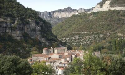 Marché vin & fromage, Pégairolles-de-l'Escalette, Languedoc-Roussillon