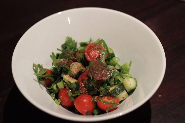 Israeli Salad (Salat Israeli)