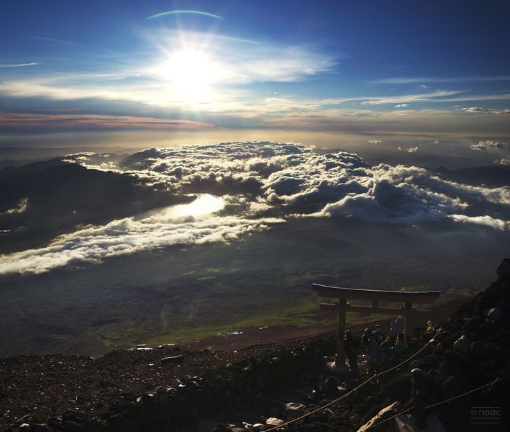 If you have time for it on a trip to Japan I strongly recommend hiking Fuji :) || Click on the photo to discover the most incredible destinations with us :)