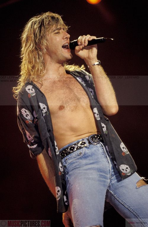 "Joe Elliott. Lookin good / On my facebook page this is listed under ""recipes I want to try""--HaHaHa--Um yeah ok!!:-)"