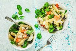 Ilustrační foto ke článku Řecký salát s těstovinami: Ideální jídlo (nejen) do práce