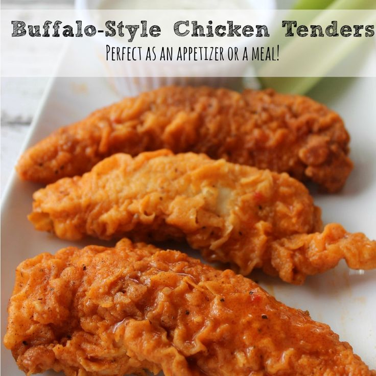Buffalo Style Chicken Tenders Recipe sq I wonder if I can bake these instead of deep frying.