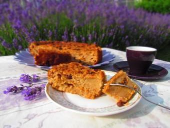 Maltese bread pudding