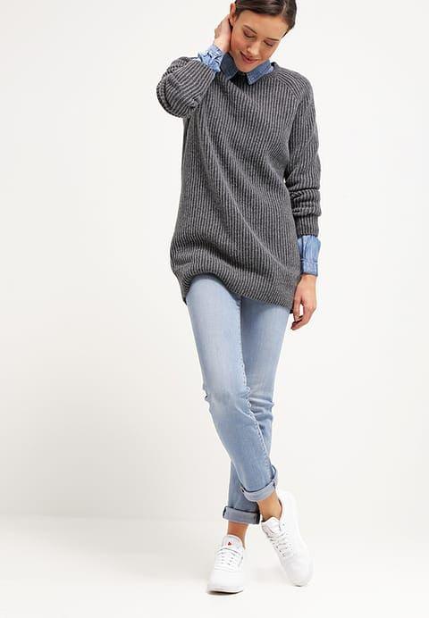 Kleding Vila VIBISTA  - Overhemd - medium blue denim Blauw denim/bluedenim: € 39,95 Bij Zalando (op 17-11-16). Gratis bezorging & retournering, snelle levering en veilig betalen!
