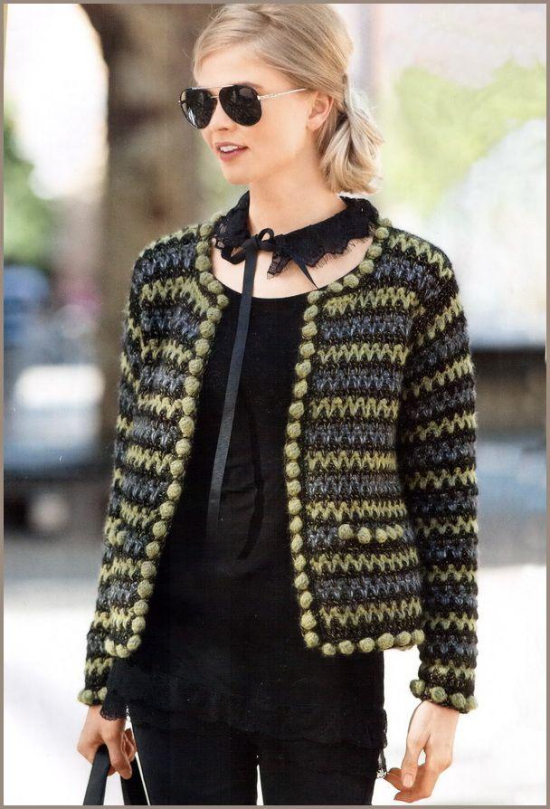 Chanel ceket Tarzı kanca