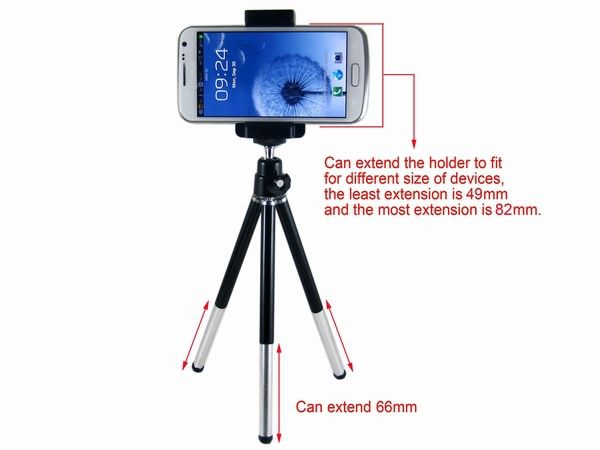 Find More Holders & Stands Information about Universal Mini Cell Phone Tripod suporte para celular for iphone 5 Samsung Galaxy Note 2 S3 i9300 S4 i9500 iphone 6 holder stand,High Quality i9300 case,China celulares chinos Suppliers, Cheap i9300 from Shenzhen City Vococal Technology Co., Ltd. on Aliexpress.com