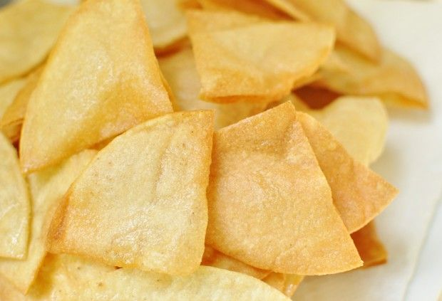 homemade tortilla chips | Recipes | Pinterest