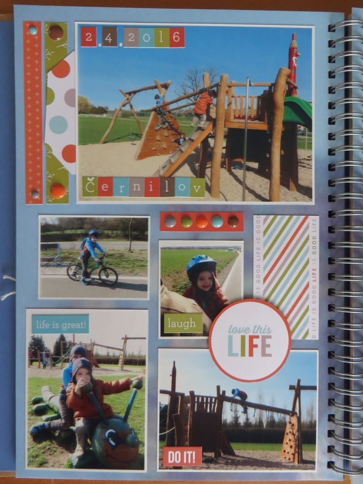 April - Bike trip to the playground