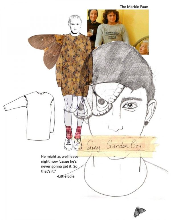 Fashion Portfolio - illustration & final design; fashion design board layouts; fashion sketchbook // Joseph Turvey