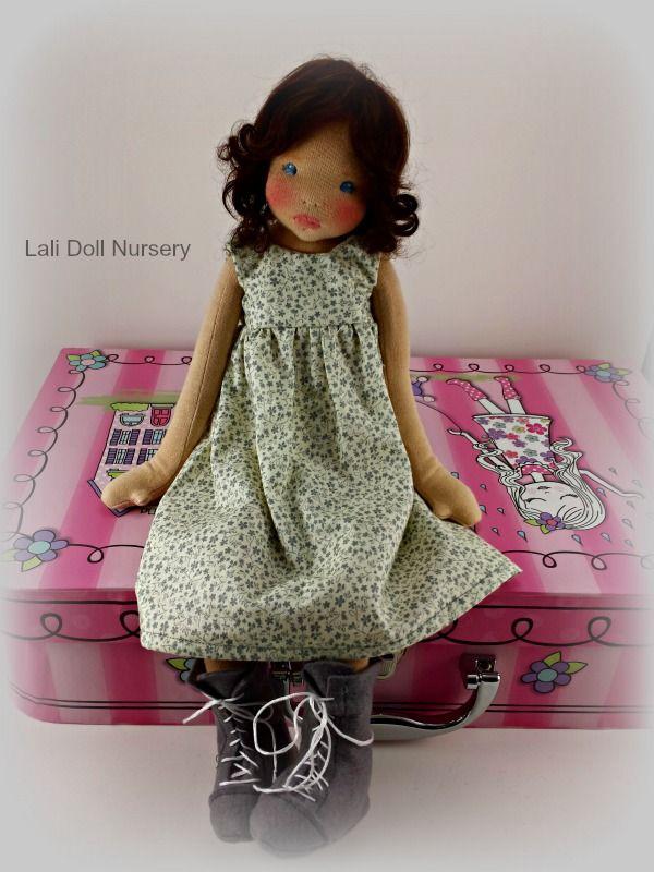 Lali Doll Nursery Diana - Waldorf inspired art doll