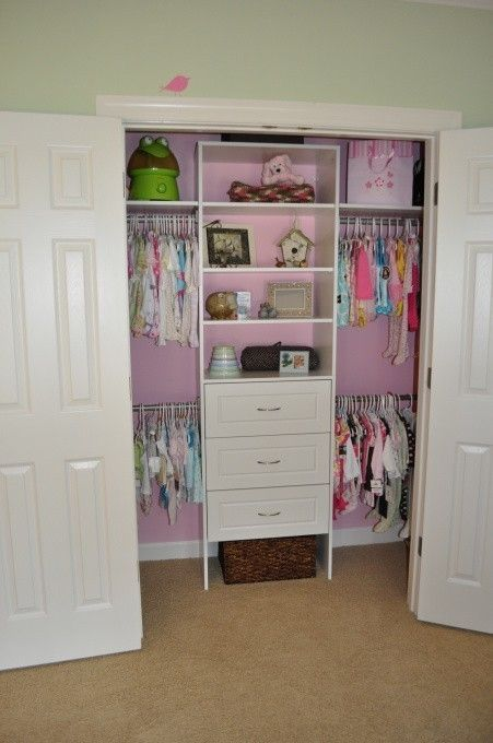 This is what I'm thinking for the kiddos... No dresser n the room and they can hang up their own clothes