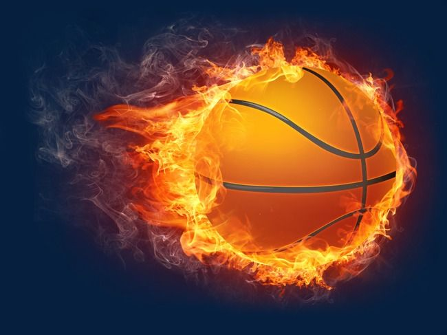 Flame Basketball Clipart Basketball Flame Flames Png And Vector With Transparent Background For Free Download Basketball Ball Basketball Games Online Design Elements
