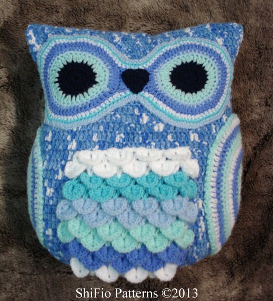 Free Crochet Owl Cushion Pattern : 17 Best images about Owls on Pinterest Free pattern, Owl ...