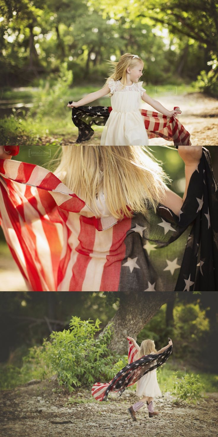 american flag photos, 4th of July photos, kensie lee photography