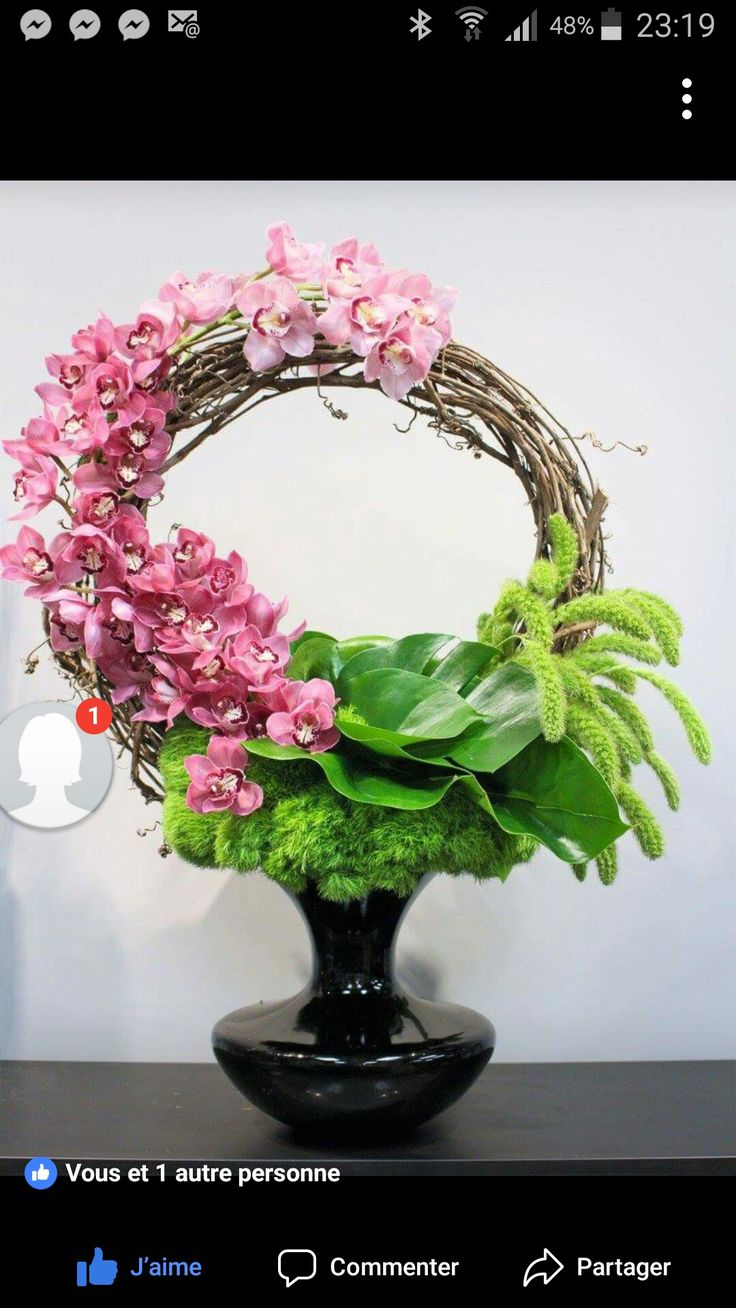 Pin by Michelle Sebag on Centerpieces Floral wreath