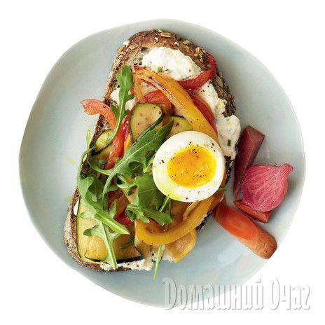 Сэндвичи с яйцом
