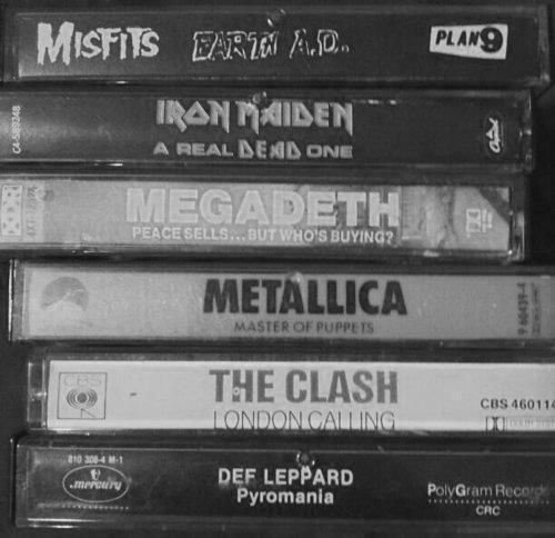 Takes me back to the good old days of big hair and even bigger guitar-playing.... --Pia (heavy metal cassette tapes)