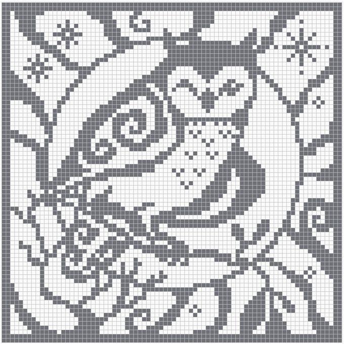 Free Filet Crochet Elephant Pattern : 176 best images about Crochet: Filet on Pinterest