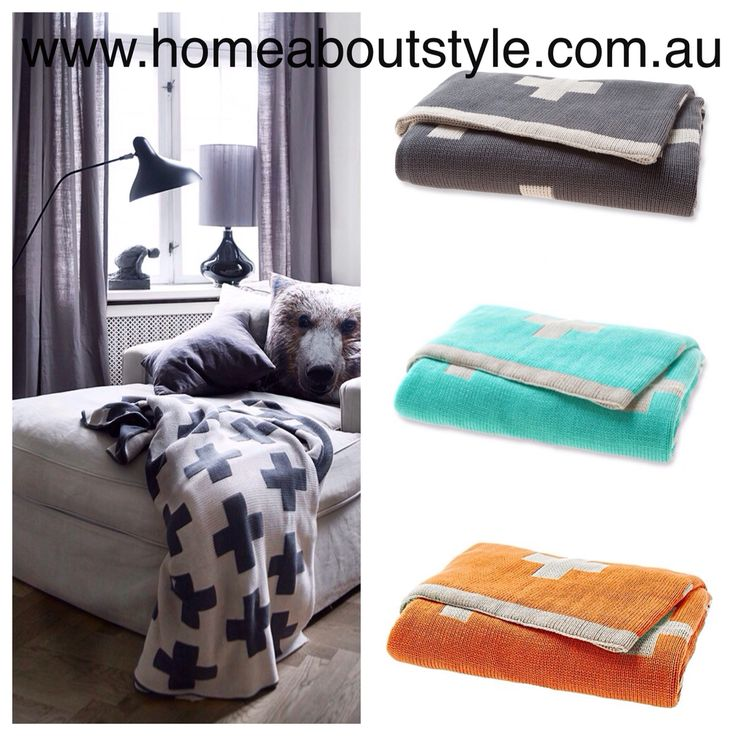 Contemporary & stylish... Our Crosses Throws are perfect for adding a splash of colour & texture to your sofa, bed or occasional chair. $109 available in 3 colours reverse to opposite colours www.homeaboutstyle.com.au throws @home_about_style #interiordesign #homedecor #homeaccessories #homedecorators #homedecoratingideas #crosses #throws #throwblankets #brightcolours #aurahome #stylish #luxury #beautifulhomes #beautifulspaces #warm&cozy #pickoftheday #homeaboutstyle