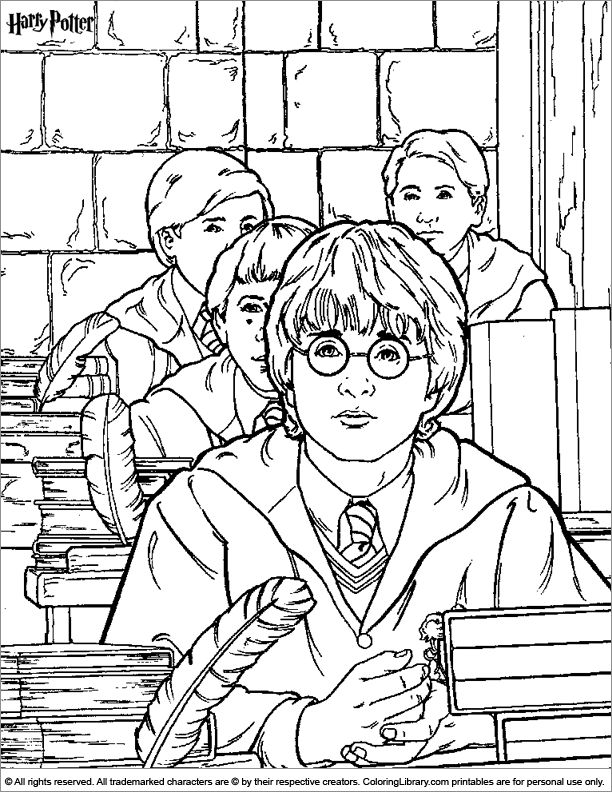 1000 images about stuff on pinterest coloring coloring Harry potter coloring book for adults