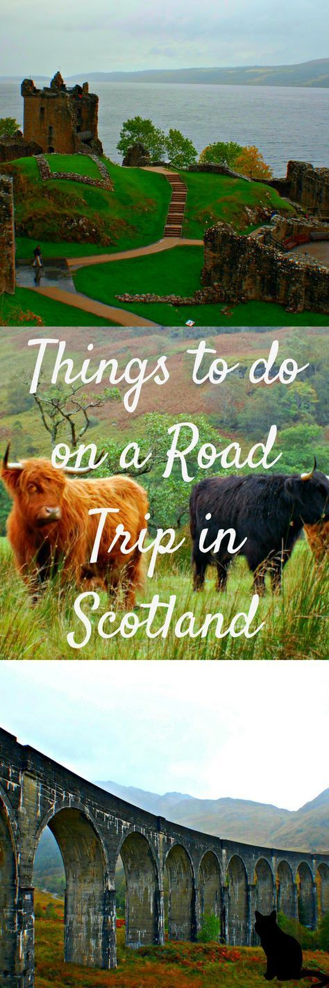 Looking for a road trip destination? Look no further than Scotland. Here is your perfect itinerary for a two-day road trip that starts in Inverness to Glencoe back to Edinburgh via Luss and Stirling. The trip can easily be extended to add a day in Inverness, a day hiking in Glencoe or even a day trip to the Isle of Skye. #Scotland #RoadTrip #UK #Glencoe #BenNevis