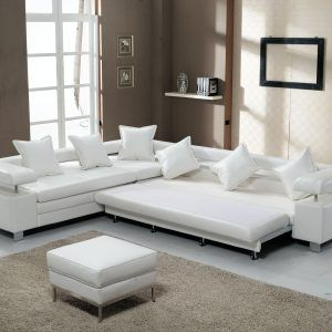 Sectional Sofa Bed White