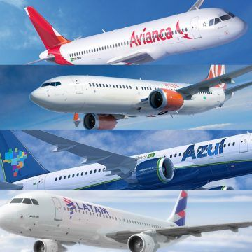 Das quatro grandes companhias aéreas brasileiras, três optaram pelo A320neo, já a Gol foi fiel à parceria com a Boeing (divulgação)