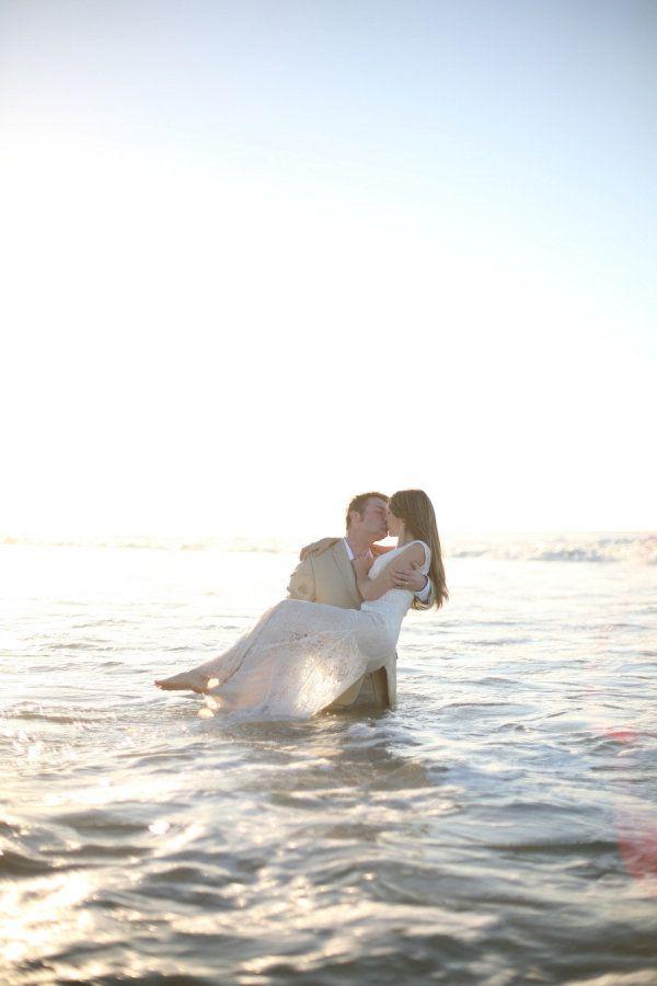 Post-wedding beach shoot. Cabo San Lucas. Photography by brittaneetaylor.com