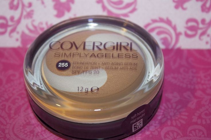 CoverGirl & Olay SIMPLY AGELESS Cream Foundation, SOFT HONEY 255-Sealed + GIFT #CoverGirl