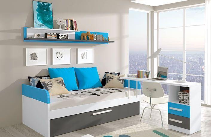 Decoracion de alcobas para ni as con cama canguro buscar for Dormitorios juveniles cama nido doble