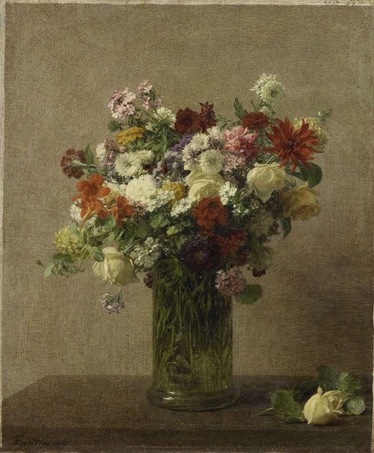 Flowers from Normandy, Henri Fantin-Latour, 1887