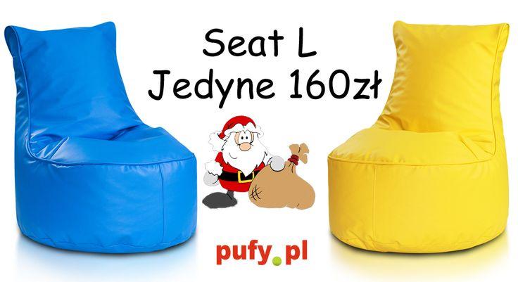 Świetny i super wygodny fotel dla wszystkich za jedyne 160zł. Dostępny w wielu, wielu kolorach. Oprócz ekoskóry dostępny także jest w poliestrze za 150zł. Obserwujcie nas, mamy dla was bardzo miłą niespodziankę z okazji zbliżających się mikołajek. Szykuje się coś niesamowitego :)))) #pufy #pufypl #ekoskóra #poliester #teflon #plusz #mikołaj #konkursmikołajkowy #sako #przecena #promocjanapufę #pufawpromocji #święta #śnieg