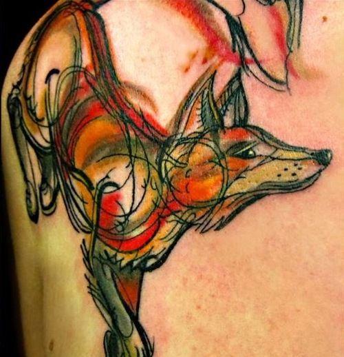 Fox by Kel Tait in Melbourne Australia