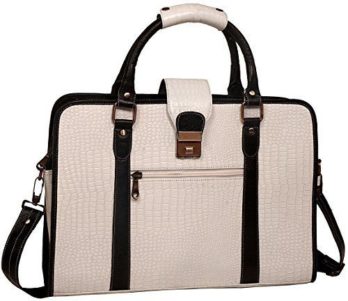 New Trending Briefcases amp; Laptop Bags: ZipperNext Croc Design Premium Genuine Leather Messenger Bag for 15.6 Laptop Briefcase Bag for Women, White. ZipperNext Croc Design Premium Genuine Leather Messenger Bag for 15.6″ Laptop Briefcase Bag for Women, White  Special Offer: $124.99  455 Reviews ZipperNext Leather Messenger bag is made from 100% Original Genuine Leather. It is perfect for office or personal use for both men and...