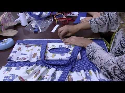 Vida com Arte | Trocador para bebê por Sandra Dantas - 29 de Agosto de 2015 - YouTube